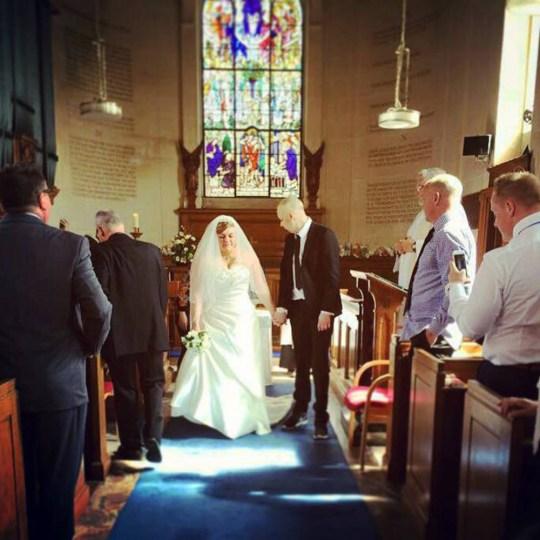 Bride Laura Jordan Brings Forward Wedding Date At Torbay