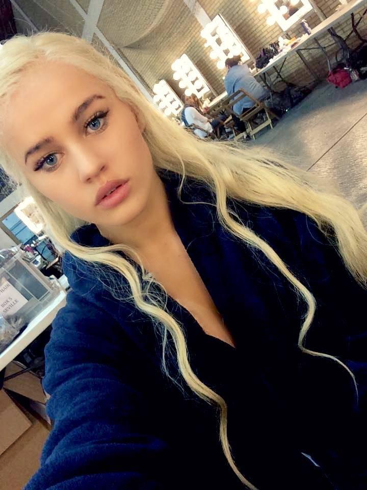 Rosie Mac - body double to Game Of Throne's Daenerys Targaryen Credit: Rosie Mac/ Facebook