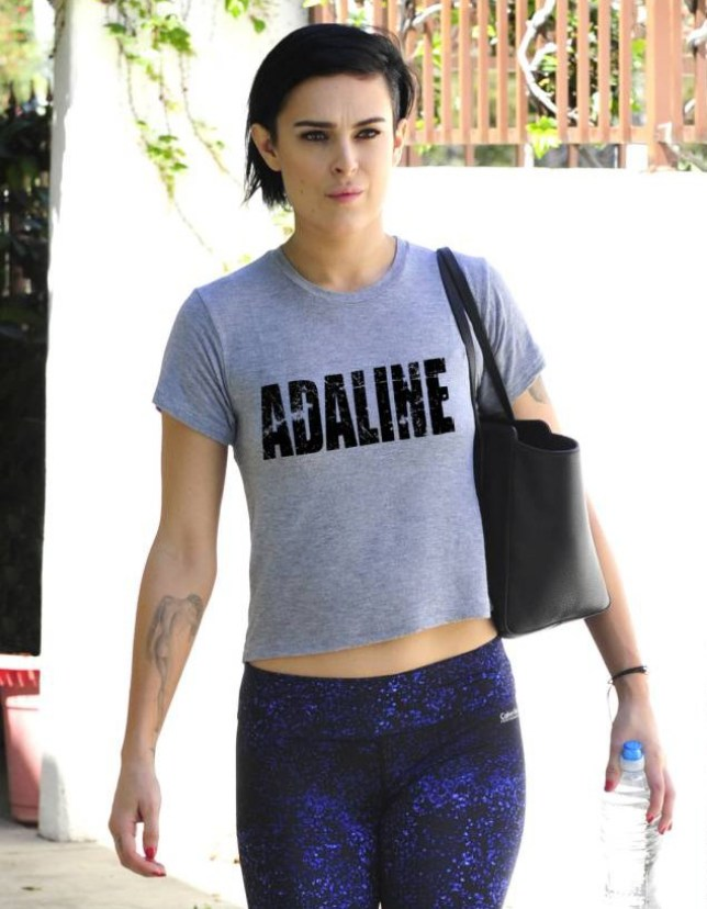 Mandatory Credit: Photo by Startraks Photo/REX Shutterstock (4686197b)  Rumer Willis  'Dancing with the Stars' cast rehearsal, Los Angeles, America - 20 Apr 2015
