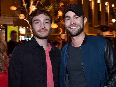 This Chuck Bass and Nate Archibald Gossip Girl reunion is everything we could have ever wanted