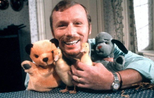 Editorial Use Only / No Merchandising Mandatory Credit: Photo by Ltd/REX Shutterstock (854357om) 'The Sooty Show' - Matthew Corbett - Puppets - Sooty, Sweep and Soo Thames TV