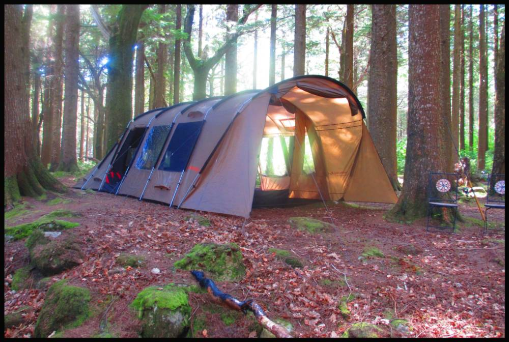 2 or 3 person insulated tent