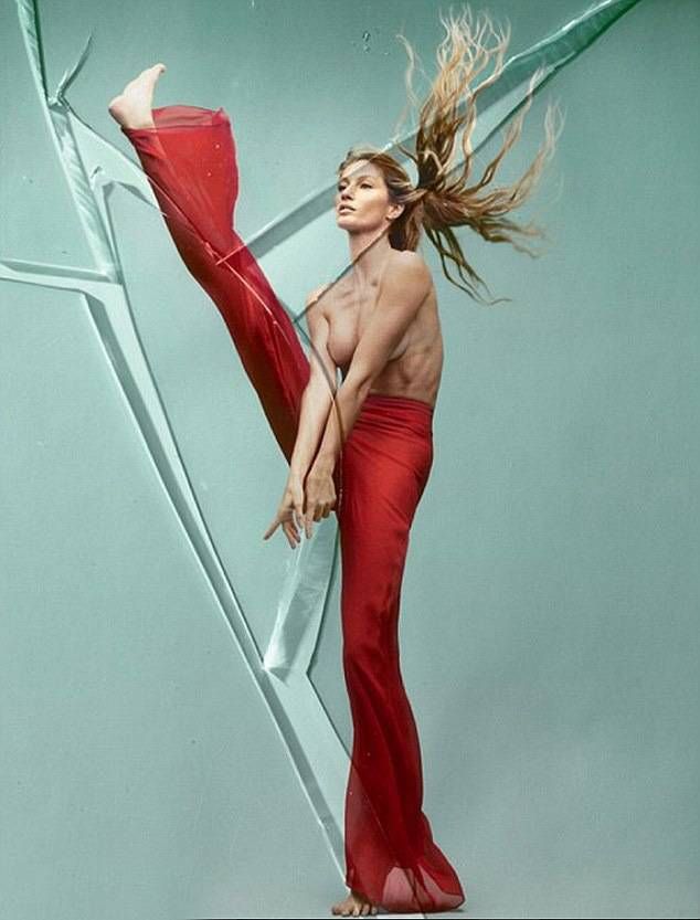 Gisele Bunchen puts her breast foot forward for stunning Vogue Brasil shoot celebrating her career