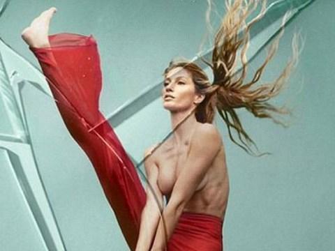 Gisele Bunchen puts her breast foot forward for stunning Vogue Brasil shoot celebrating her career