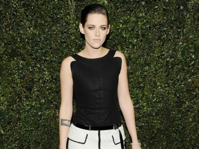 Mandatory Credit: Photo by ddp USA/REX Shutterstock (4448456dw).. Kristen Stewart.. Chanel and Charles Finch Pre-Oscar Dinner at Madeo Restaurant, Los Angeles, America - 21 Feb 2015.. ..