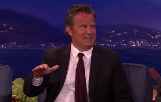 Matthew Perry on Conan 3