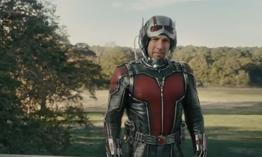 Paul Rudd is shrunk to actual ant size – but still packs a punch – in the first full trailer for Ant-Man