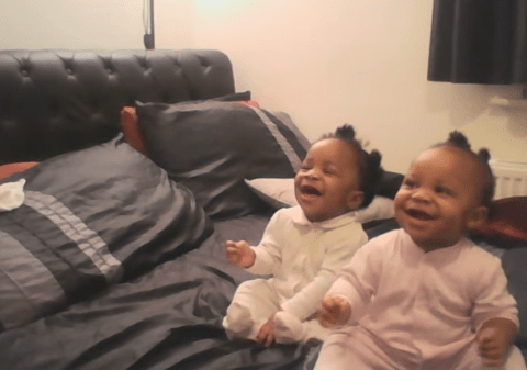 These babies rocking out to the EastEnders theme tune is all you need to see today