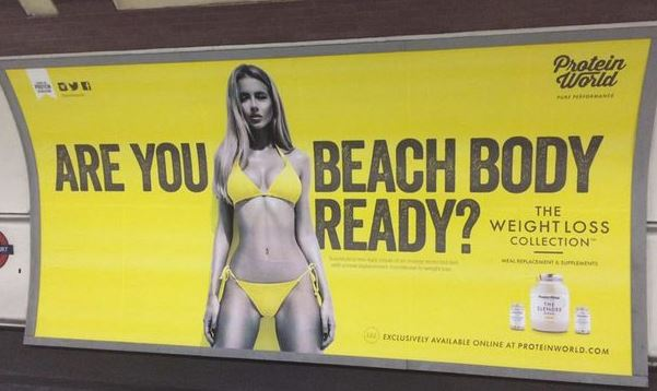 'Are you beach body ready?': Body shaming advert attracts barrage of criticism