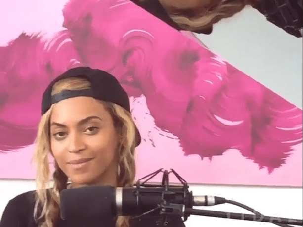 Beyonce surprises fans with new stripped-back track released on husband Jay Z's music streaming service Tidal