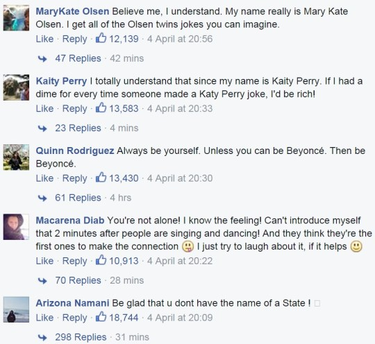 A girl named Beyonce inspired the most hilarious comments section