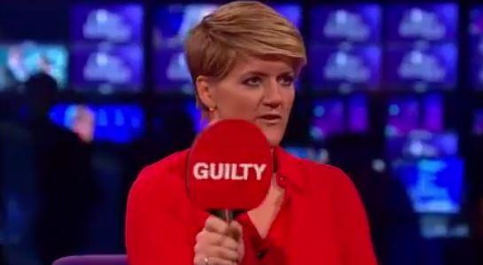 Clare Balding emulates broadcasting hero Ellen DeGeneres on her own show Picture: BT Sport