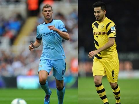 Borussia Dortmund 'could offer Arsenal and Manchester United transfer target Ilkay Gundogan to Manchester City for Edin Dzeko'