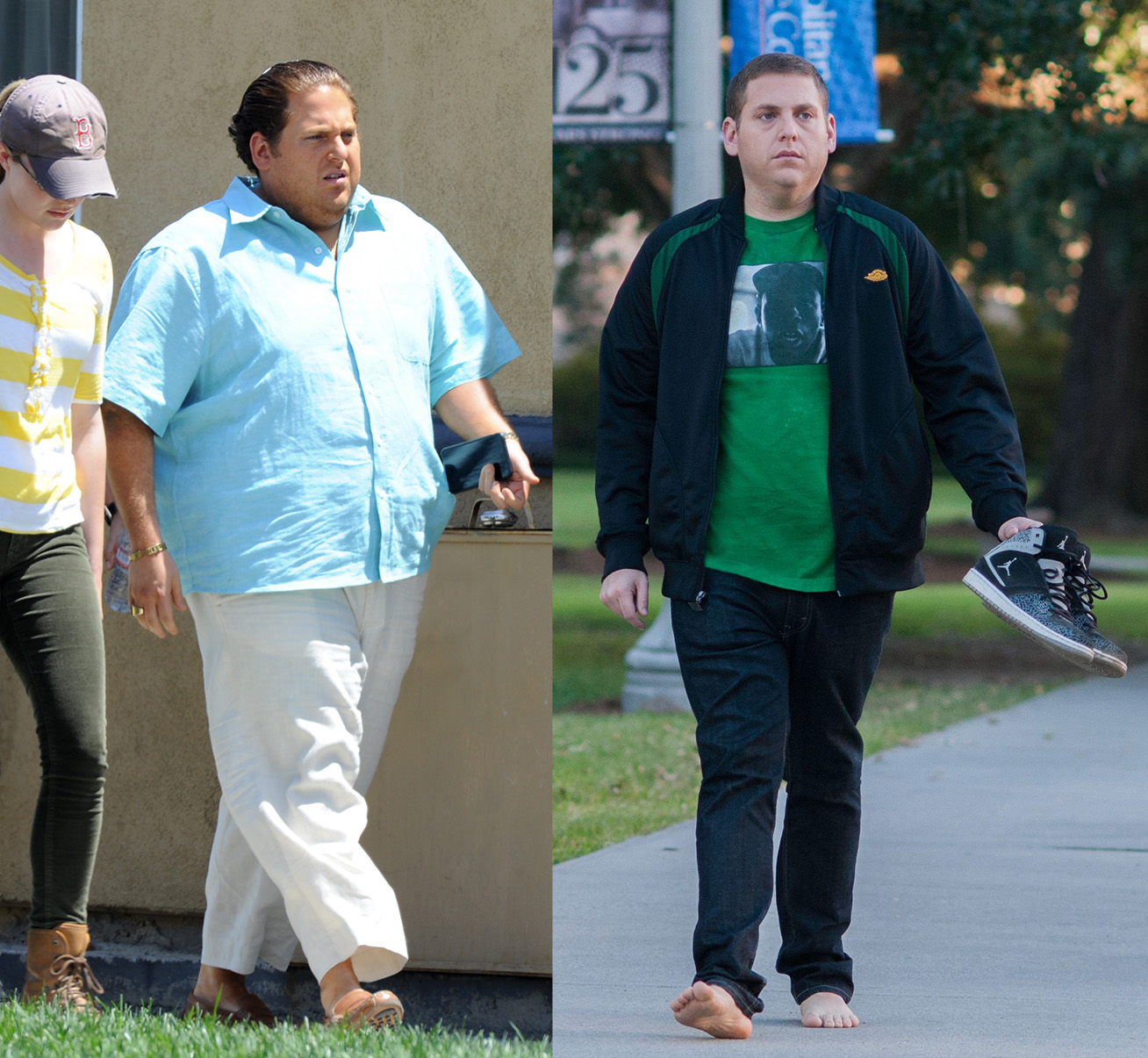 Wolf Of Wall Street's Jonah Hill looks completely different for new movie role