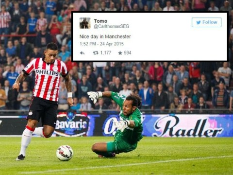 Has Memphis Depay's representative just hinted Manchester United will complete transfer for him ahead of Liverpool?