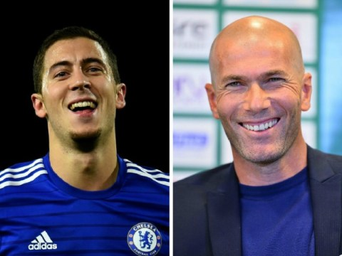 Real Madrid's Zinedine Zidane sparks transfer speculation, says he is keeping an eye on Chelsea's Eden Hazard