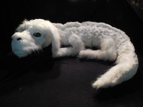 Someone has made a Falkor the Luck Dragon plush from The Neverending Story and it's freaking awesome
