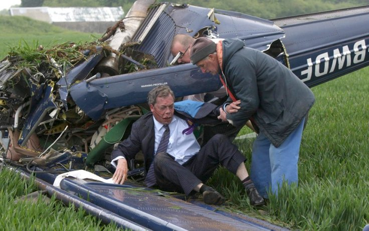 Nigel Farage admits he's been suffering back pain from plane crash