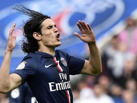 Arsenal and Manchester United dealt transfer blow as Paris Saint-Germain rule out Edinson Cavani sale