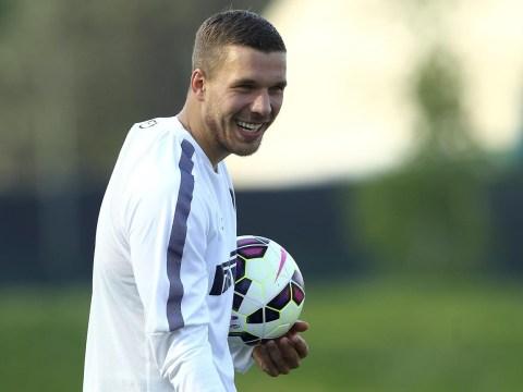 Where will Arsenal's World Cup winner Lukas Podolski be next season?