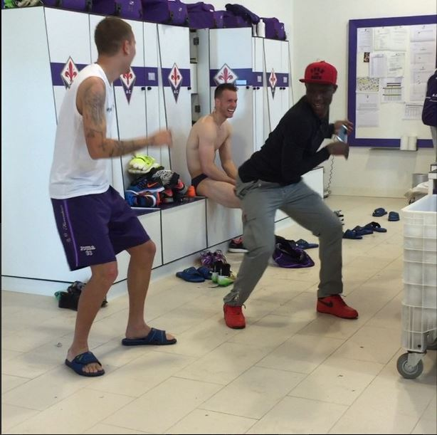 On-loan Manchester City defender Micah Richards uploads brilliant video of Fiorentina teammates dancing