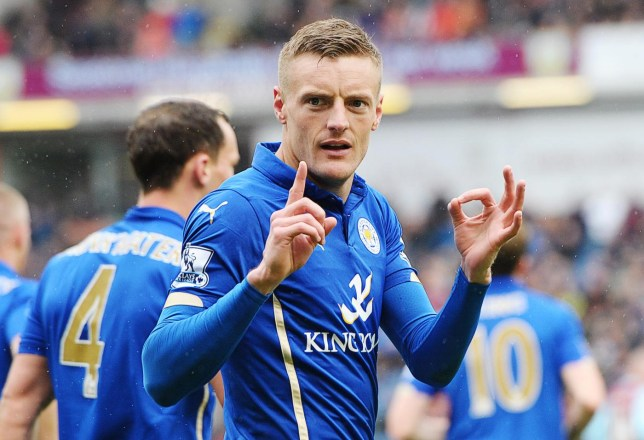 Jamie Vardy allegedly called the man a 'Jap' (Picture: Paul Burrows/Reuters)