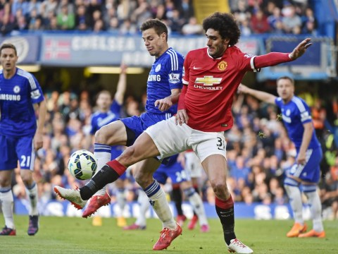 Stopping Manchester United's Marouane Fellaini will be crucial to Everton
