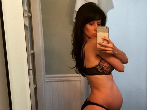 Alec Baldwin's wife Hilaria posts sexy Instagram pic to show off baby bump