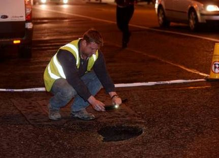 19th century brothel tunnel causes traffic chaos in Dublin
