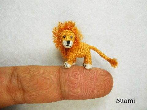 Tiny lion amigurumi pattern | 359x480