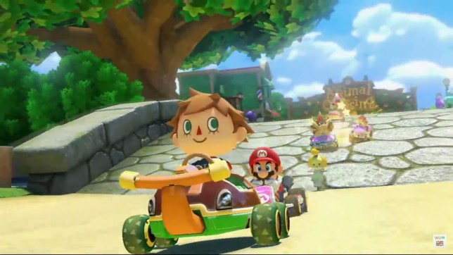 Mario Kart 8 DLC Pack 2 - it's not free but 200cc mode is