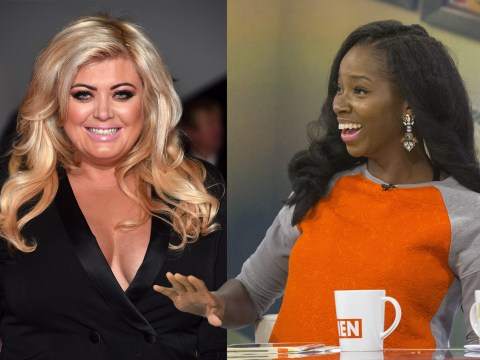 TOWIE's Gemma Collins isn't very happy with Jamelia's plus size comments