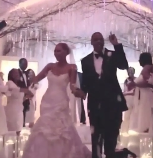 Too cute! Jay Z Instagrams video of his wedding to Beyonce to celebrate anniversary
