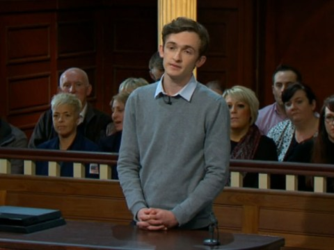Remember Luke Marsden from Big Brother 9? Because he's only gone and turned up on Judge Rinder
