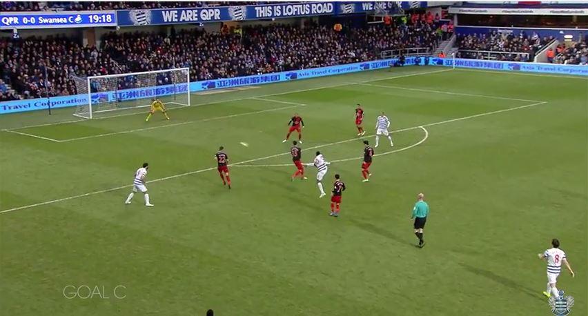 Leroy Fer nets a stunner for QPR