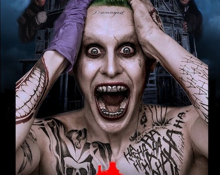 This poster mash-up of Jared Leto's Suicide Squad Joker and Home Alone is spot-on