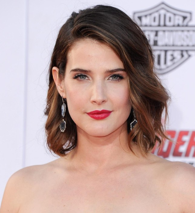 "Cobie Smulders Marvel's ""Avengers Age Of Ultron"" - Los Angeles Premiere - Arrivals Jon Kopaloff/FilmMagic"