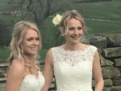 'The best day of my life!' Emmerdale's Michelle Hardwick marries girlfriend Rosie Nicholl