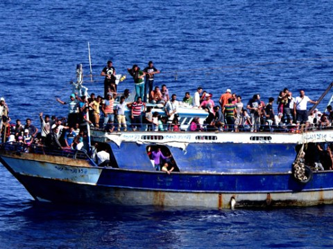 Hundreds of migrants feared dead after boat capsizes in the Mediterranean