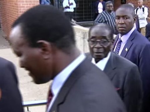 Robert Mugabe sparks racism row by offending a white journalist