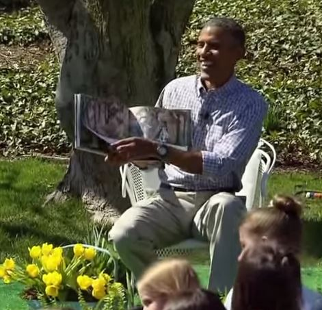 Anyone for a bedtime story? (Picture: ABC/YouTube)