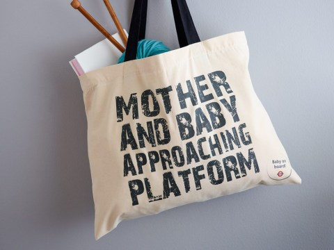 Not just badges any more! Now you can get 'Baby on Board' keyrings and canvas bags