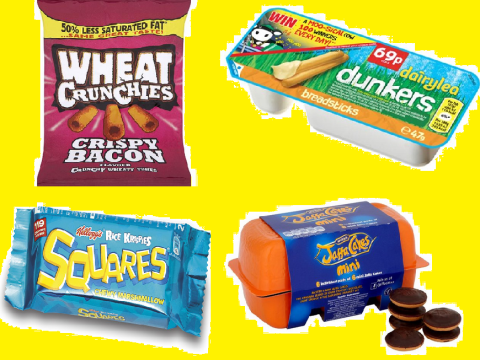 23 things your mum packed in your lunch box