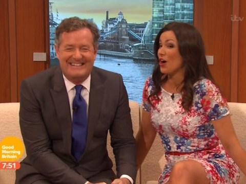 Piers Morgan is loving life with Susanna Reid on Good Morning Britain