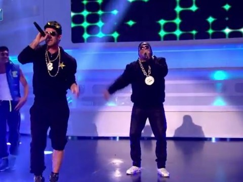 Watch ex-Liverpool stars John Barnes and Jamie Redknapp perform Sugarhill Gang's 'Rapper's Delight'