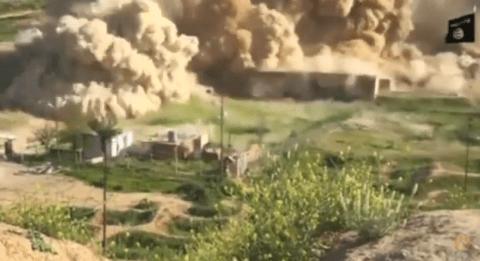 Isis destroy ancient city of Nimrud
