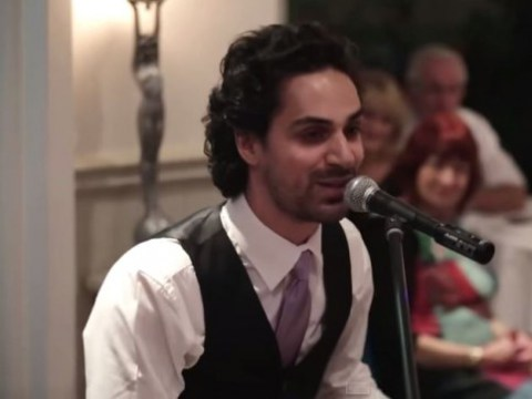 Mashing together Sam Smith and Elton John, this really is the best Best Man's speech EVER