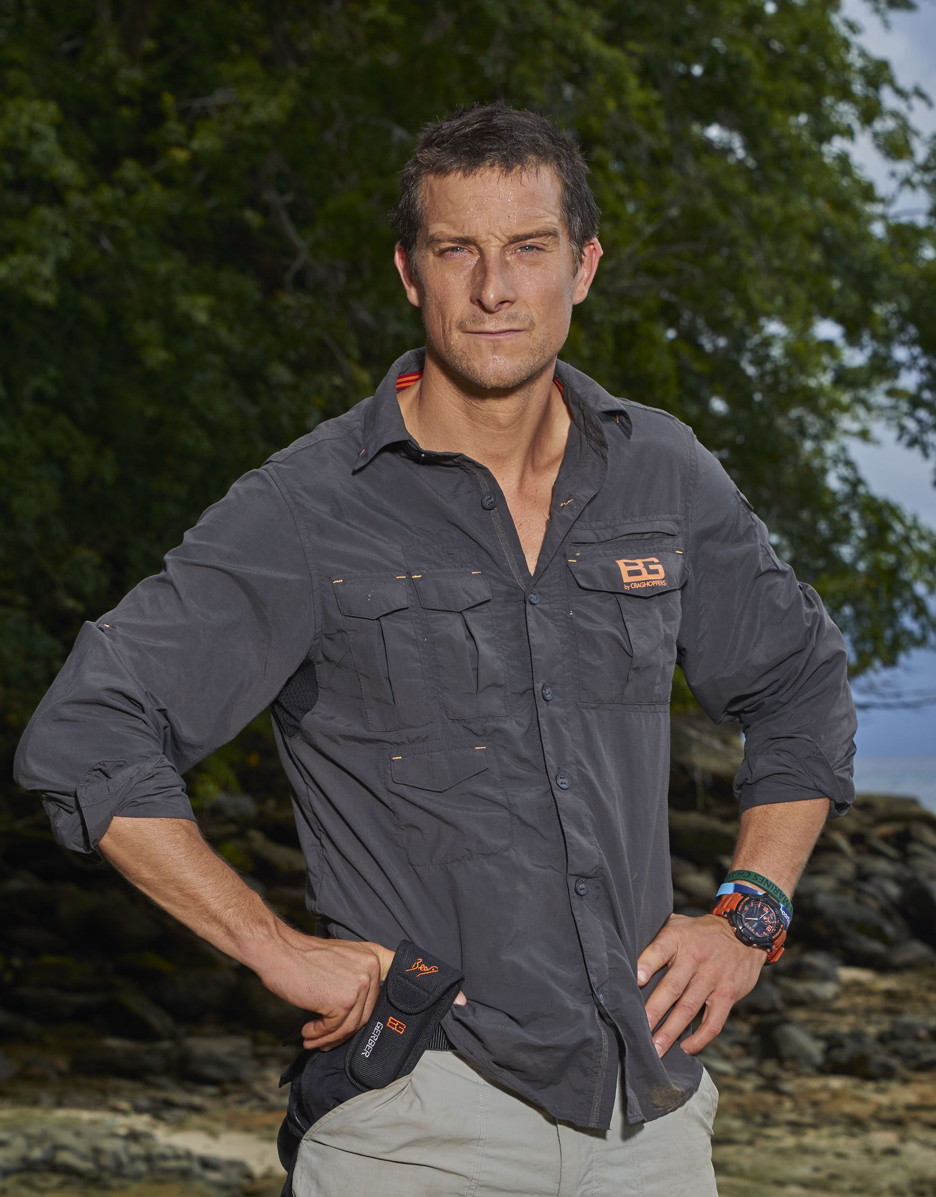 Dehydration terror caused Bear Grylls to almost cancel The Island