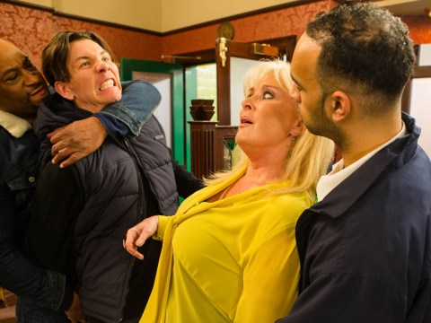 Liz McDonald attacked in Coronation Street, Linda Carter birth twist in EastEnders and Emmerdale fire shock: 10 soap spoiler pictures