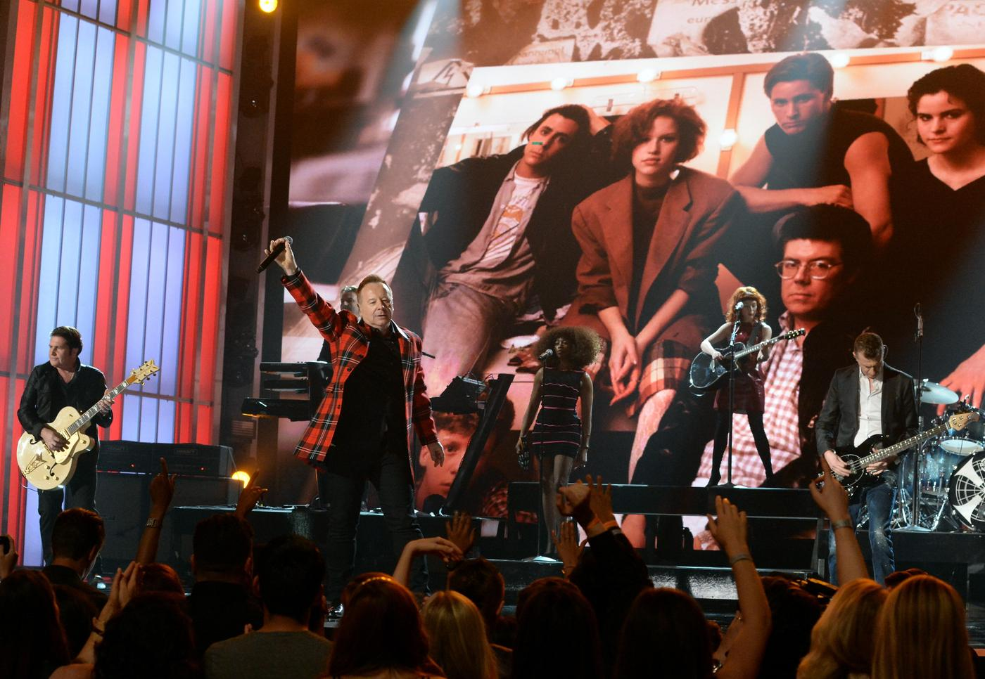 Simple Minds 2015 Billboard Music Awards - Roaming Show Jeff Kravitz/BMA2015/FilmMagic